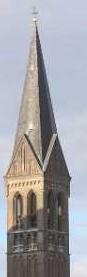 tweede dag Kempische wandeldagen - één van de kerktorens van de Brigidda kerk van Geldrop