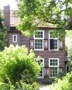 derde dag Kempische wandeldagen - huis bij kasteel Heeze