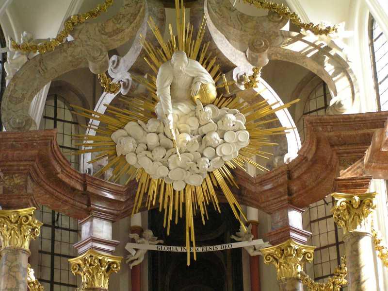 In de Stiftkerk te Thorn