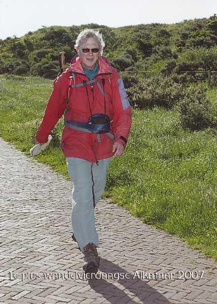 In aktie tijdens de Plus Wandelvierdaagse Alkmaar
