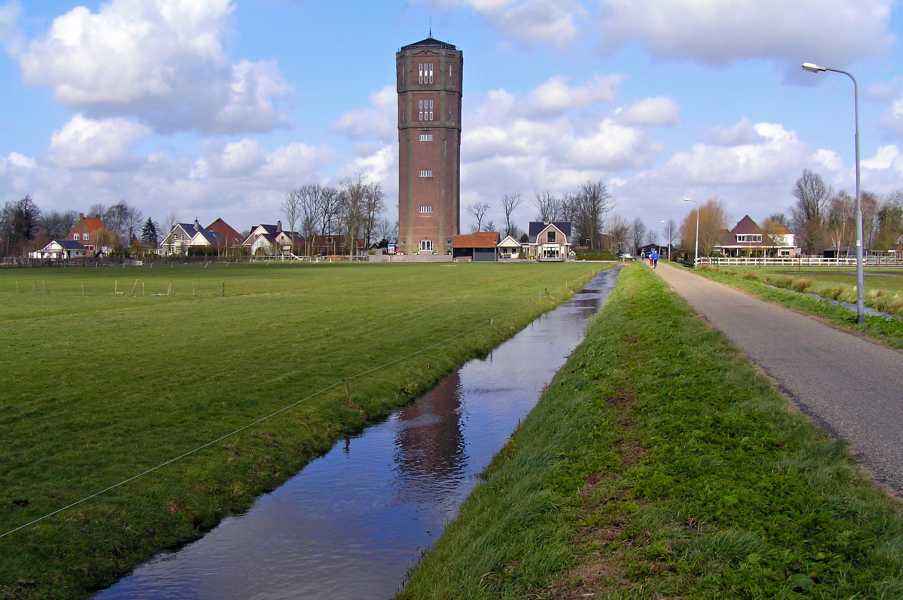 Amsterdam-Hoorn 2008  Kwadijk, watertoren