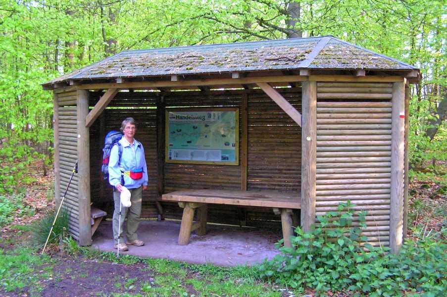 Marskramerpad 1  bosgebied 't Oostermaet