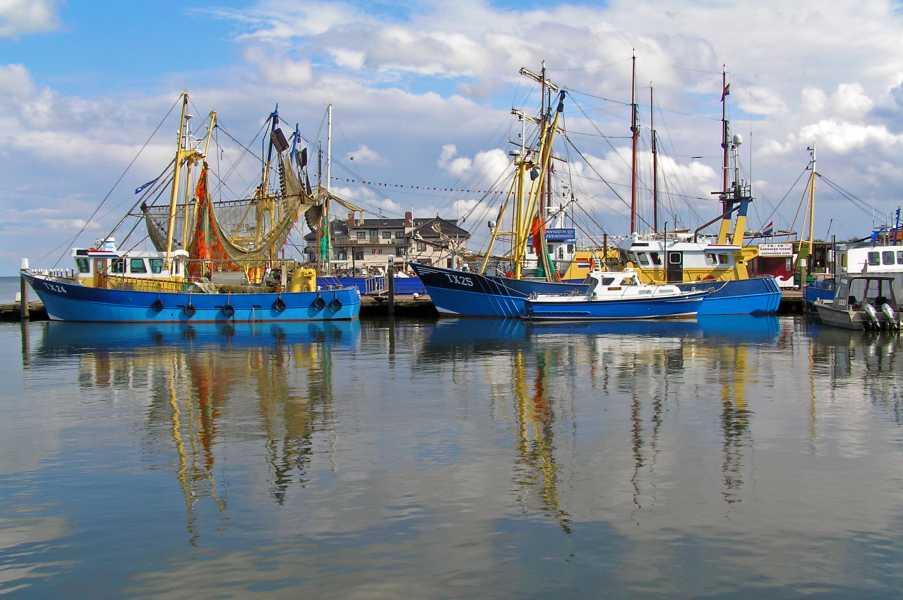 Rondje om Texel op zaterdag 14 juni 2008  de haven van Oudeschild