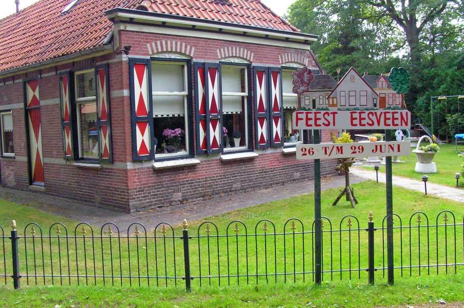 21e Kennedymars van TIGO te Steenwijk van 20 op 21 juni 2008  huis in Eesveen