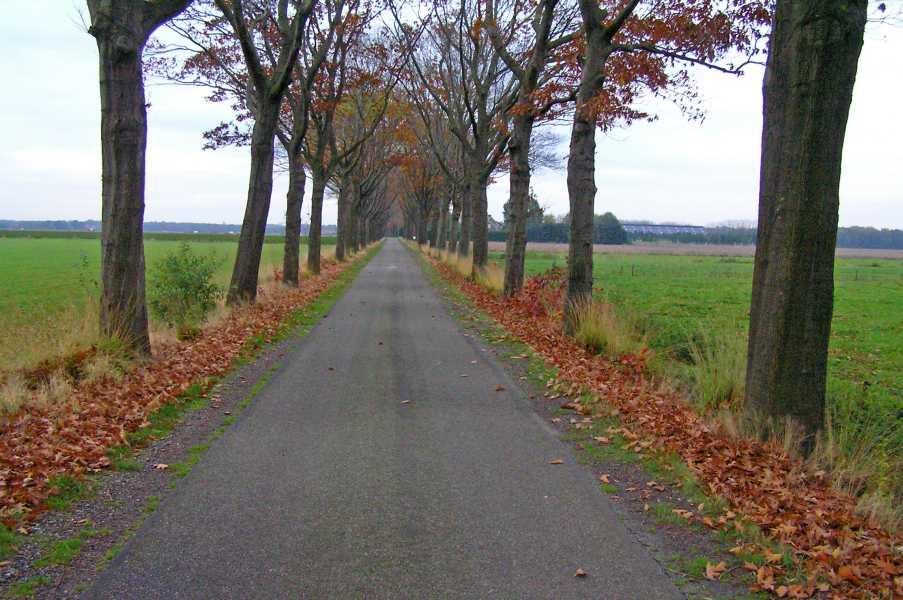 Peellandpad  Heitrak, langs de Vlosbergwego
