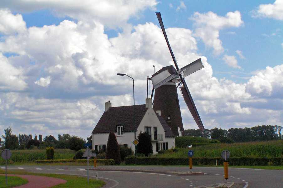 Kempische wandeldagen 2008, 2e dag  molen Roosdonck te Nuenen