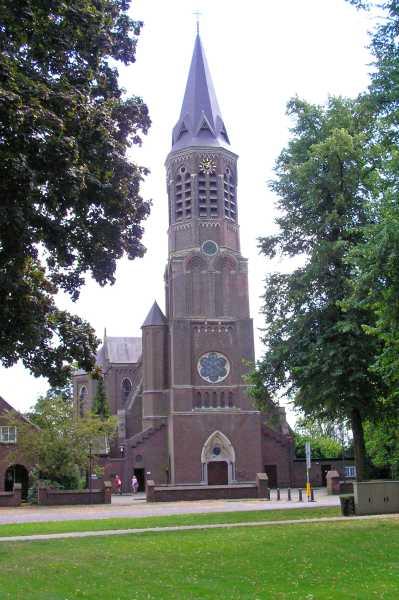 Kempische wandeldagen 2008, 2e dag  kerktoren te Nuenen
