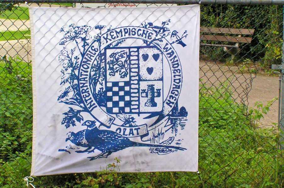 Kempische wandeldagen 2008, 2e dag  Internationale Kempische Wandeldagen,  ontwerper Koos van de Heijden
