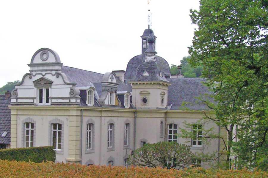 Met de Ronde van Zuid-Limburg 2008  kasteel Goedenraad