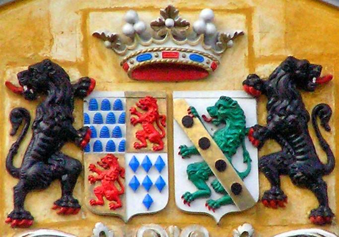 Met de Ronde van Zuid-Limburg 2008  kasteel Oost, wapen