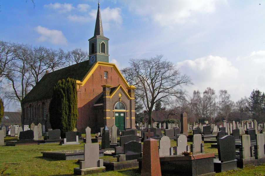 De Baak wandeltocht vanuit Lutjegast met de FLAL op zaterdag 7 maart 2009  Nederlands Hervormde Kerk van Nuis