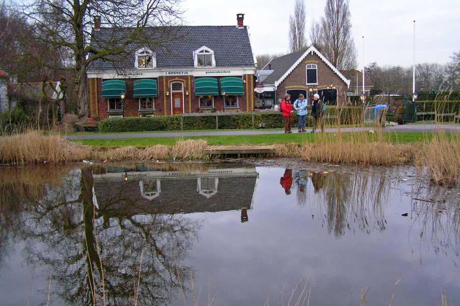 NS-wandeltocht Boonervliet  pannenkoekboerderij 't Sonnetje te Maasland