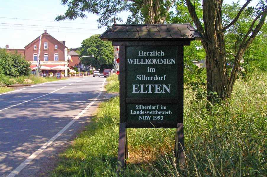 NWB lustrumtocht vanuit Zevenaar op zaterdag 13 juni 2009  Silberdorf Elten