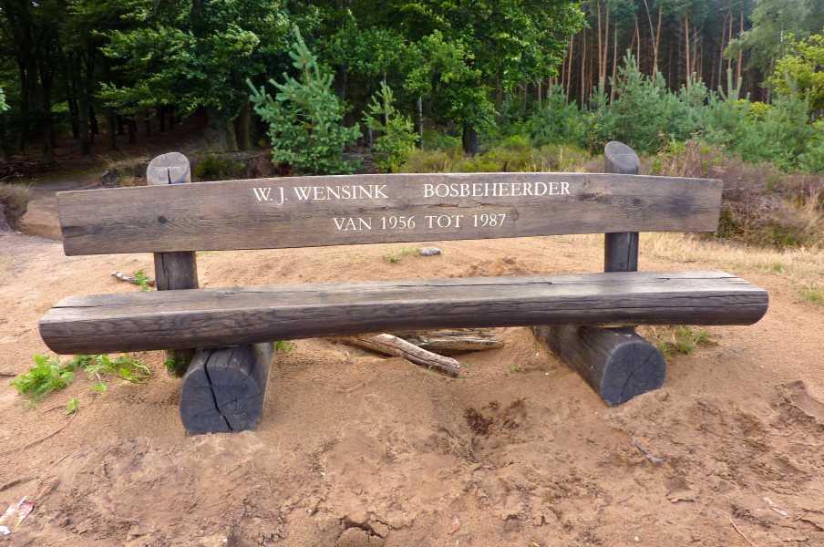 Apeldoornse vierdaagse  W.J. Wensinkbank