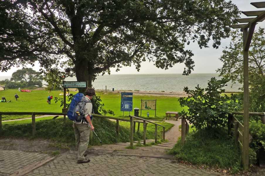 NS wandeling Gaasterland  nabij 't Mirnser Klif