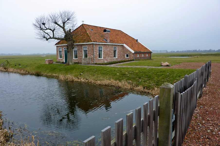 Reitdiep tocht met de FLAL vanuit Groningen op 5 maart 2011  in het Harssensbosch