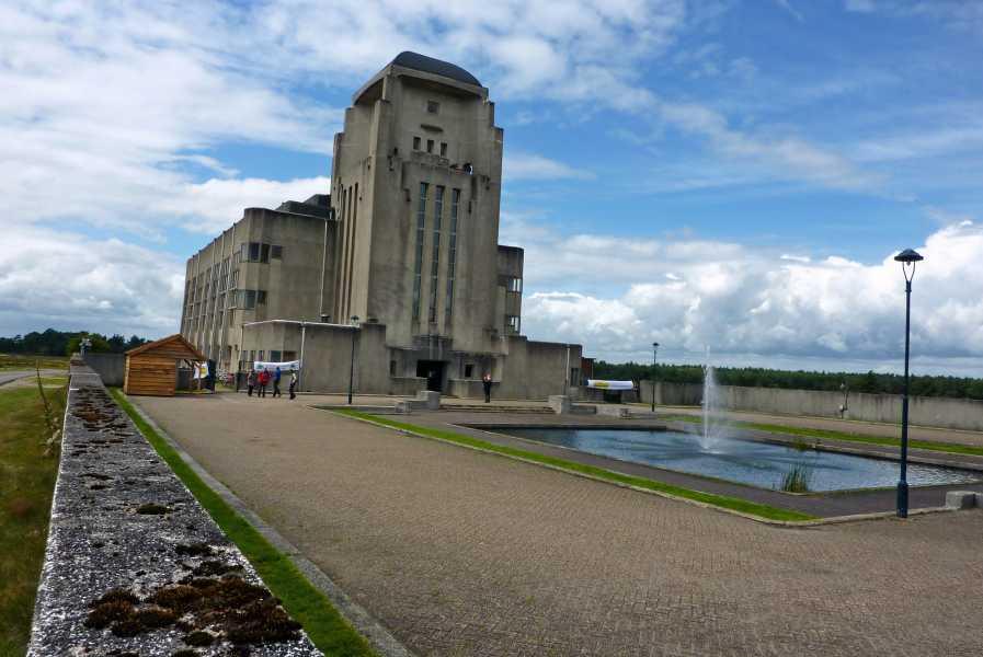 de marathon van Apeldoorn  Radio Kootwijk