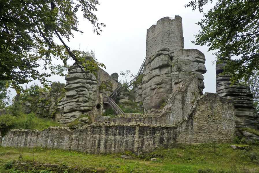 Burgenweg  ruïne Weißenstein