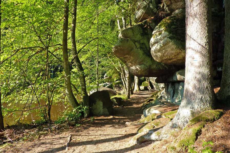 Burgenweg  langs de Waldnaab