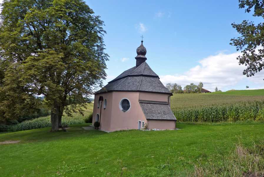 Burgenweg  St Jakob kerk