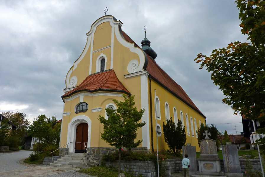 Pandurensteig  Heilige Martin Kerk in Patersdorf