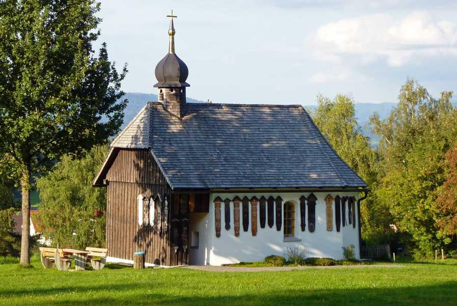 Pandurensteig  Kapelle von Weissenstein