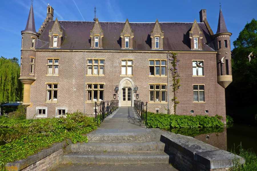 Met de Ronde van Zuid-Limburg 2012  kasteel Ter Worm