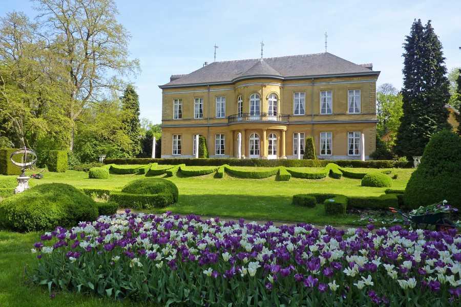Met de Ronde van Zuid-Limburg 2012  kasteel Oost te Valkenburg