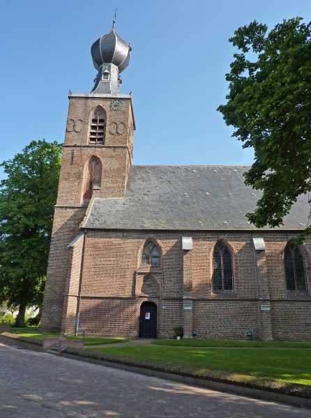18e Drents Friese Wold Wandelvierdaagse 2012  Sint Nicolaaskerk in Dwingeloo