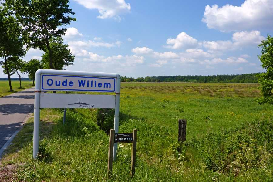 18e Drents Friese Wold Wandelvierdaagse 2012  Oude Willem