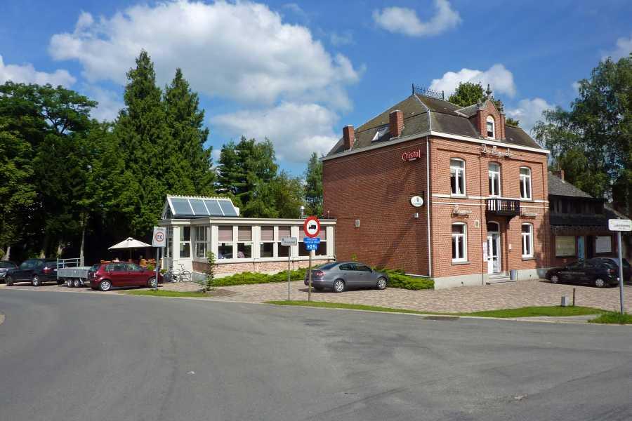 Airbornepad  Brasserie-restaurant Den Brugwachter te Lommel Grote Barrier