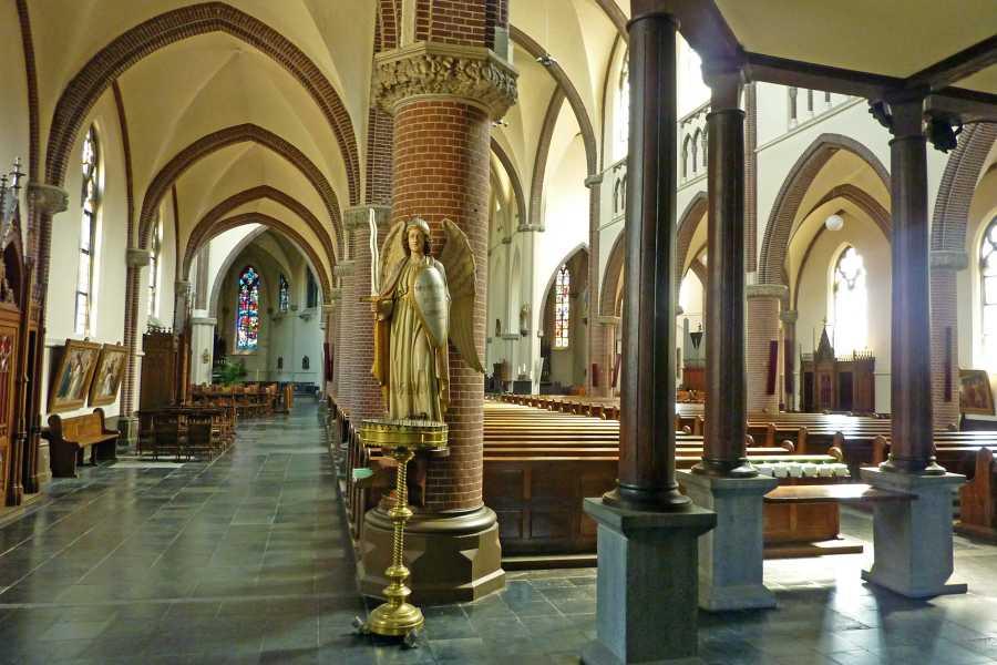 Airbornepad  in de RK Sint Oda kerk  te Sint Oedenrode