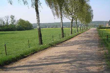 Tijdens de Lentetocht Stichting Omloop Beek op 6 mei 2006