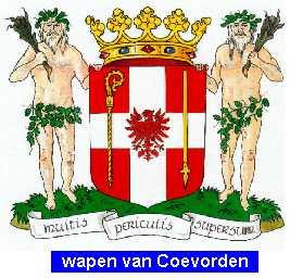 Dit is het wapen van Coevorden.  Dit wapen is te vinden op de lokatie www.ngw.nl/indexgb.htm   Deze site is mogelijk gemaakt door de Bank Nederlandse Gemeente te Den Haag