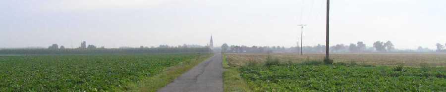 tijdens de Europäischer Fernwanderweg E8, Flerzheim