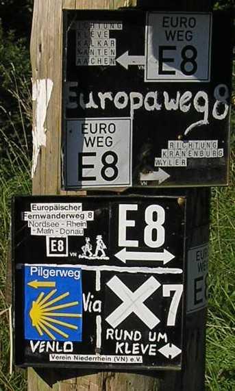 Europäischer Fernwanderweg E8