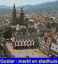 Goslar markt + stadhuis