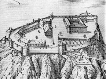 Hohentwiel, één van de Hegau Burgen.