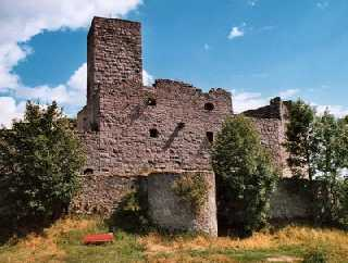 Leuchtenberg - Burgruïne