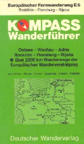 Voorblad Kompass Wanderführer Europäischer Fernwanderweg E6