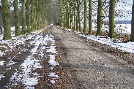 Met de FLAL-De Moere-tocht  vanuit Grolloo, Drenthe;  Steenhopenweg te Drouwen