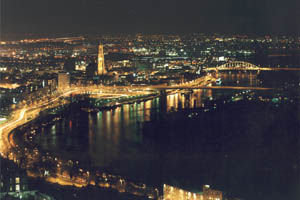 Nachtfoto van Arnhem