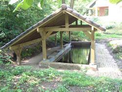 historische spoelplaats, nabij de bronnen van de Elzenbeek te Beek/Ubbergen