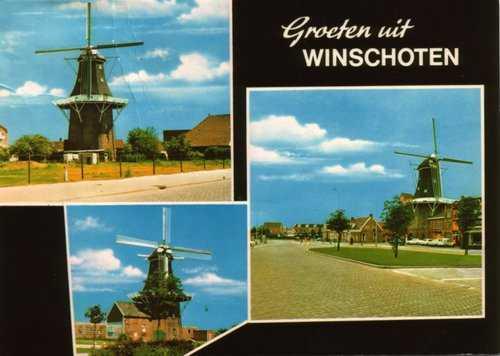 De drie molens van Winschoten