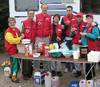 Tijdens de herfstdagtocht van de LAT vanuit Berg en Dal op zaterdag 14 oktober 2006