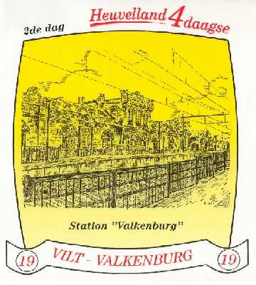 stikker Heuvelland wandelvierdaagse 2006 - eerste wandeldag