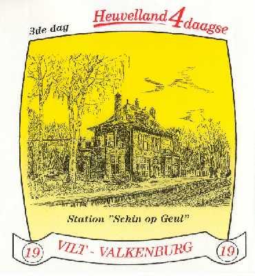 stikker Heuvelland wandelvierdaagse 2006 - derde wandeldag