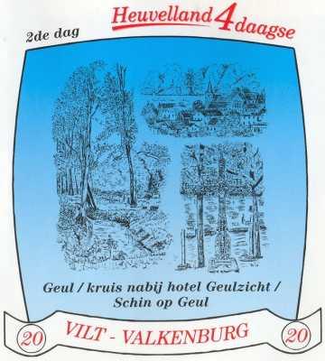 stikker Heuvelland wandelvierdaagse 2007 - tweede wandeldag