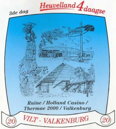 stikker Heuvelland wandelvierdaagse 2007 - derde wandeldag