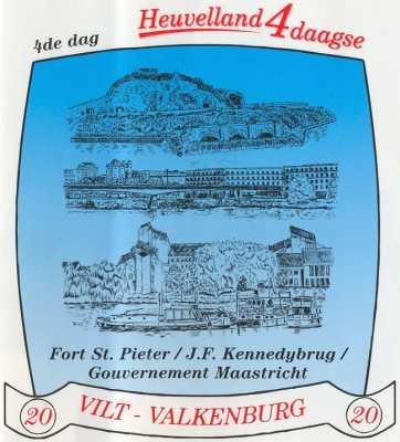 stikker Heuvelland wandelvierdaagse 2006 - vierde wandeldag